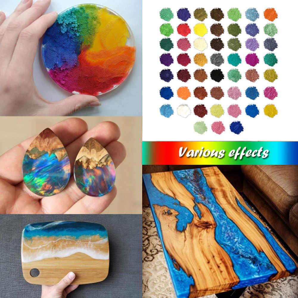 顔料雲母粉セット diy 泥風呂石鹸染料キャンドル樹脂作る真珠化粧釘アート