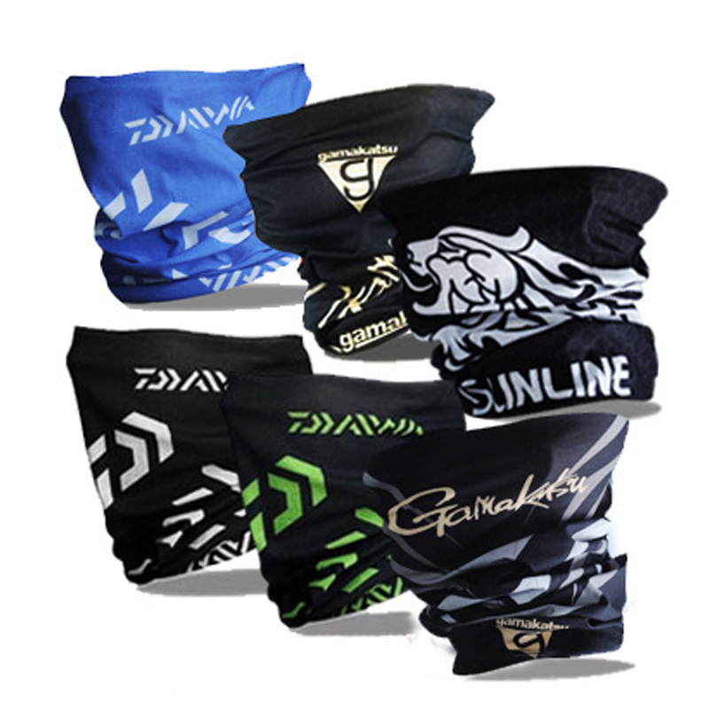 1 Pcs Windproof Fishing Scarf Summer Breathable Neck Collar Sun Protection Cycling Bandana Seamless Magic Face Mask