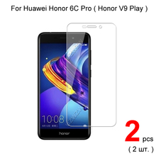 Protector de pantalla de vidrio templado 2.5D para Huawei Honor 6C Pro, vidrio Protector para Huawei Honor 6C Pro