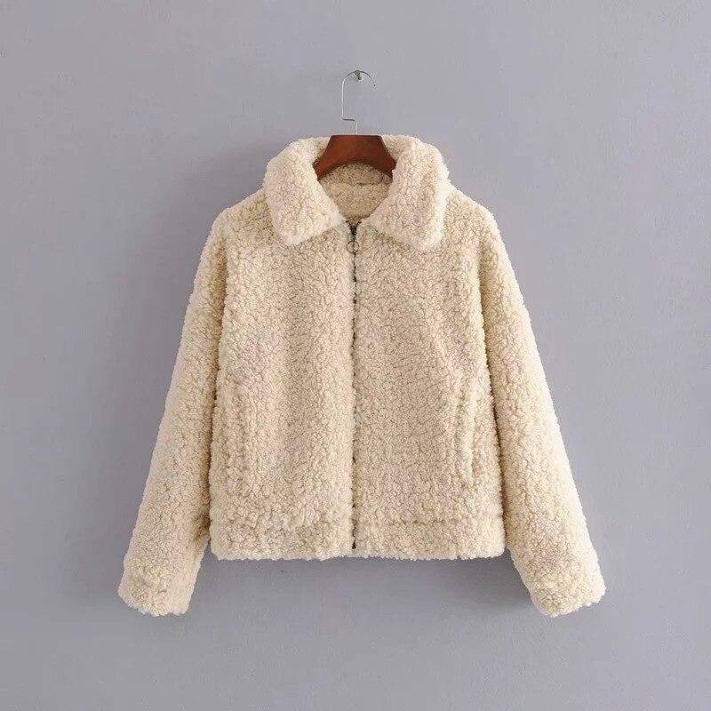 C5284 2309 женское платье новые продукты флисовая короткая куртка - 2