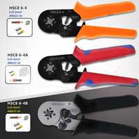 HSC8 6-4 Multi-uso 0.25-6mm2 Auto-regolazione di Piegatura Pinza per Capicorda Puntali utensili a mano pinze terminale Tubolare