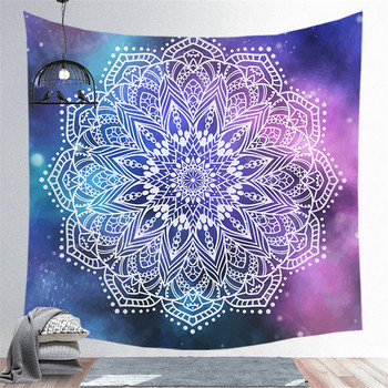 SEAAN Four Sizes Room Decoration Geometric Patterns Tapestry Home Decoration Accessories Polyester Tapestries 1