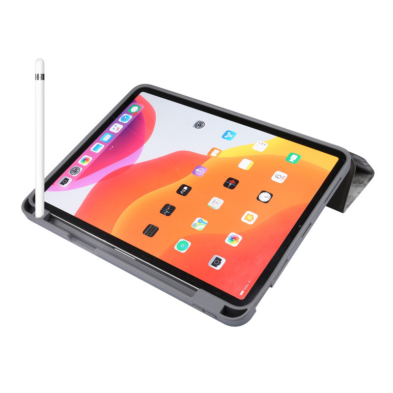 for with iPad Shell Tablet-Case Apple Pencil-Holder Fold-Cover Air Slot Fundas Shell