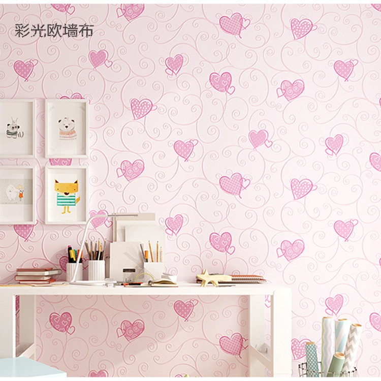 CHILDREN'S Room Seamless Wall Cloth Environmentally Friendly Wall Covering Fabric Bedroom Library Living Room Wall Wallpaper Car