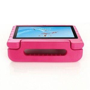 Image 2 - עבור Lenovo Tab P10 מקרה כף יד מלא גוף ילדי ילדים EVA ידית סטנד tablet כיסוי עבור lenovo tab m10 10.1 אינץ