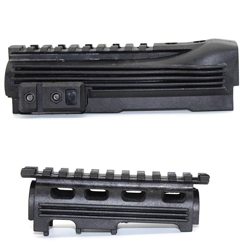 Hot Black Tactical Hunting Rifle Gun Accessories Airsoft Gear Shoot AK 47 Strikeforce Polymer Handguard Upper lower Picatinny(China)