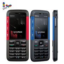 Original Unlocked Nokia 5310 XpressMusic 5310XM Bluetooth Java MP3 Player Refurbished Mobil