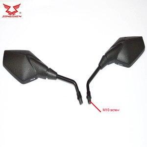 Image 1 - RX3S RX4 ZS250GY 3 ZS400GY 2 ZS500GY zongshen 250cc 400cc 500cc אופנוע מראה אחורית
