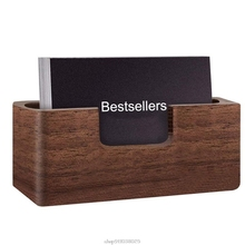 Business-Card-Holder Mar15 Wooden Convenient Professional And Durable 21 Dropship