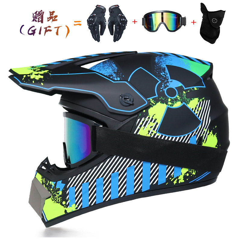 2020 Off-road Motorcycle Helmet Men Women Motocross Helmet Full Face Kask Downhill Casque Moto Cross Enfant Capacete Accessorios