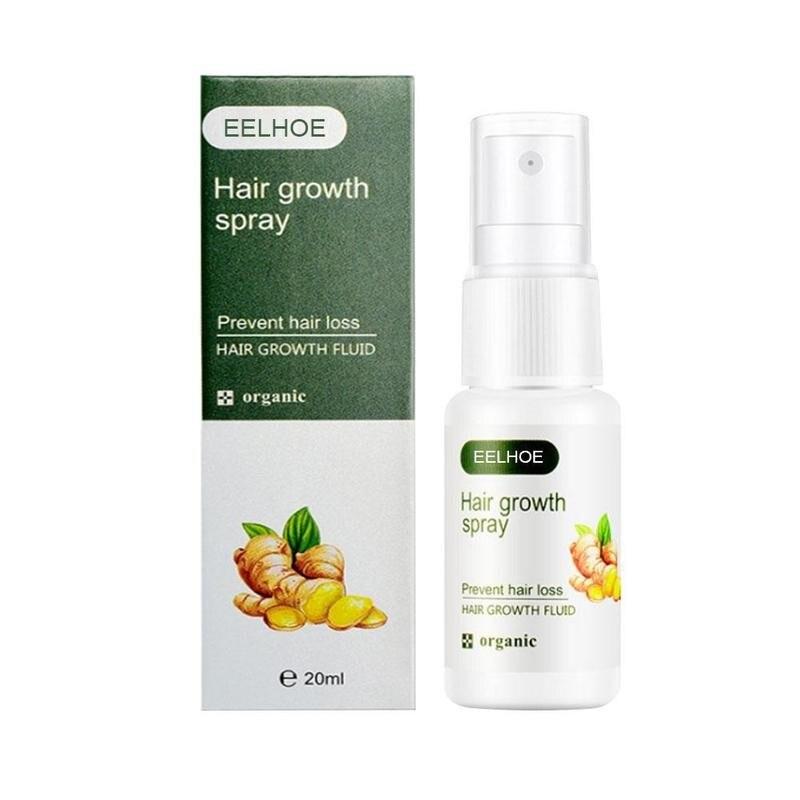 Regrowth спрей для имбиря быстрый рост волос Жидкость против потери лечение имбирь эссенция предотвращает выпадение волос Regrowth имбирь спрей ...