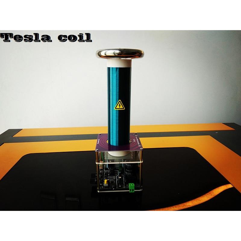 Tesla Coil Desktop Integrated Solid State Music Tesla Coil Finished Artificial Lightning