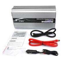 цена на High Power 12V Car Power Inverter 3000W 60HZ Charger DC 24V TO AC 220V Peak Power 6000W Car Converter 3000W Adapter