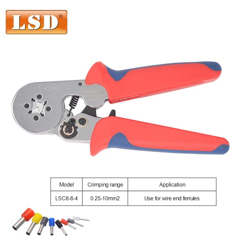 ابزار مهار کننده باریکی فریول 0.25-10mm2 ابزار سایشی لوله LSC8-6-4 آستین پایان بند ناف حمل و نقل رایگان