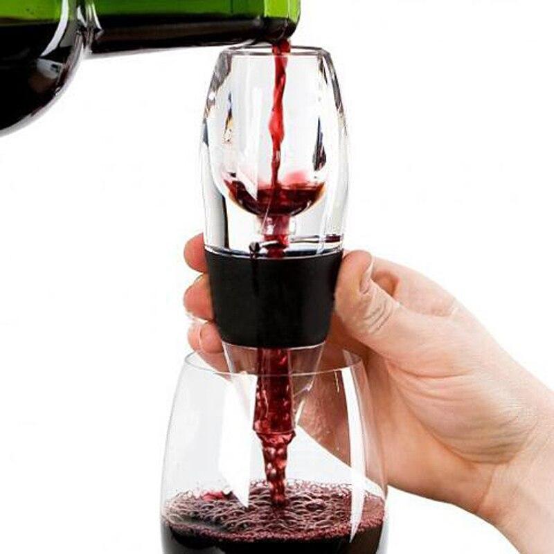 Vinho tinto Aerador Mini Filtro Vinho Magia Decanter Essencial Aerador Rápida Vinho Funil Filtro bar Essencial Conjunto de Equipamentos