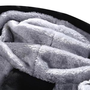 Image 4 - Winter Warm Tracksuit Men Set Casual Jacket Suit Mens Brand Clothing Mens Sweats Suit Two Pieces Zipper Sweatshirt Dropshipping