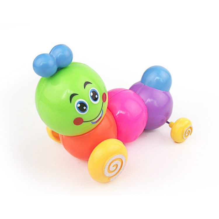 2023 Children Wind-up Toy Wholesale Colorful Chain Caterpillar Telescopic Worm Walk Twister Butt Stall Supply Of Goods