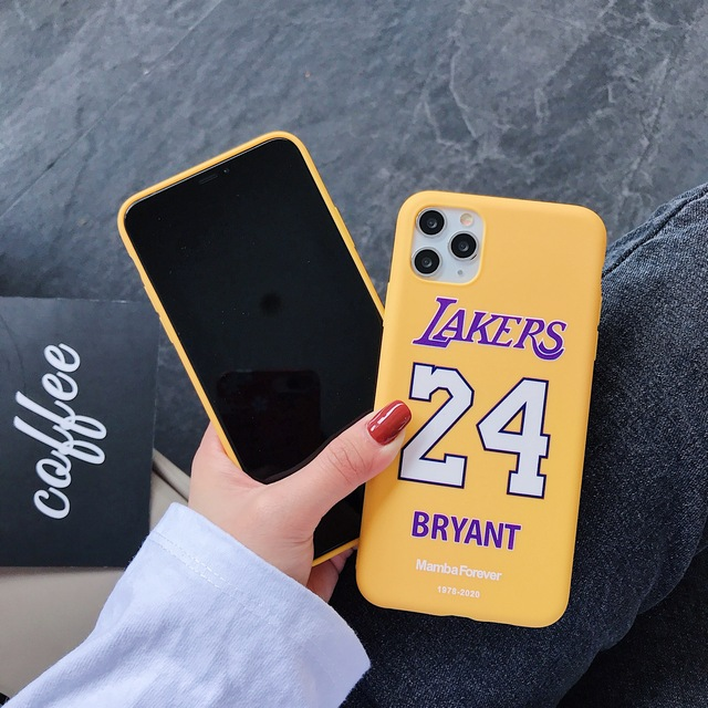 2020 New! Memorial Kobe 8 24 TPU Soft Case For iPhone 11 Pro Max XS Max XR X Phone 7 8 Plus CASE Cover