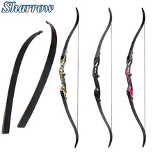 Archery 30-50lbs Recurve Bow 56inch American Hunting Longbow Advanced Bow Limbs Shooting Bow and Arrow Accessory Crossbow цена и фото