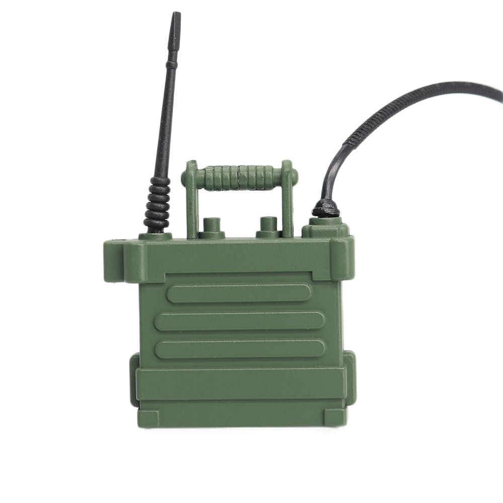 1/10 Scaleสถานีวิทยุโทรศัพท์สำหรับ 1:10 RC Crawler Axial SCX10 90046 D90 D110 TF2 Traxxas TRX-4 RCอุปกรณ์เสริมสถานีวิทยุ