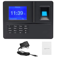 Plugue dos eua  h6 máquina de comparecimento da senha da impressão digital biológica inteligente registrador de entrada do empregado Registro de horas     -