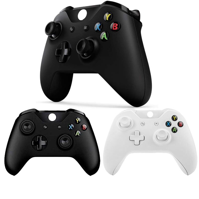 Sem fio gamepad para xbox um controlador jogos mando controle para xbox um s console joystick para x box um para pc win7/8/10