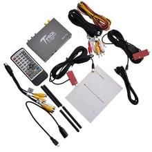160 Km/hour High-speed CAR DVB-T2 1920x1080P Subminiature Car True Dual Antenna HD TV Box Audio Decoder Multi-media Format T338B