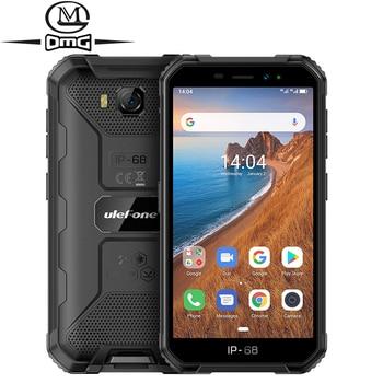 цена на Ulefone Armor X6 IP68 shockproof Rugged Smartphone Android 9.0 MT6580 Quad-core mobile phone 4000mAh 2GB + 16GB 3G cellphone