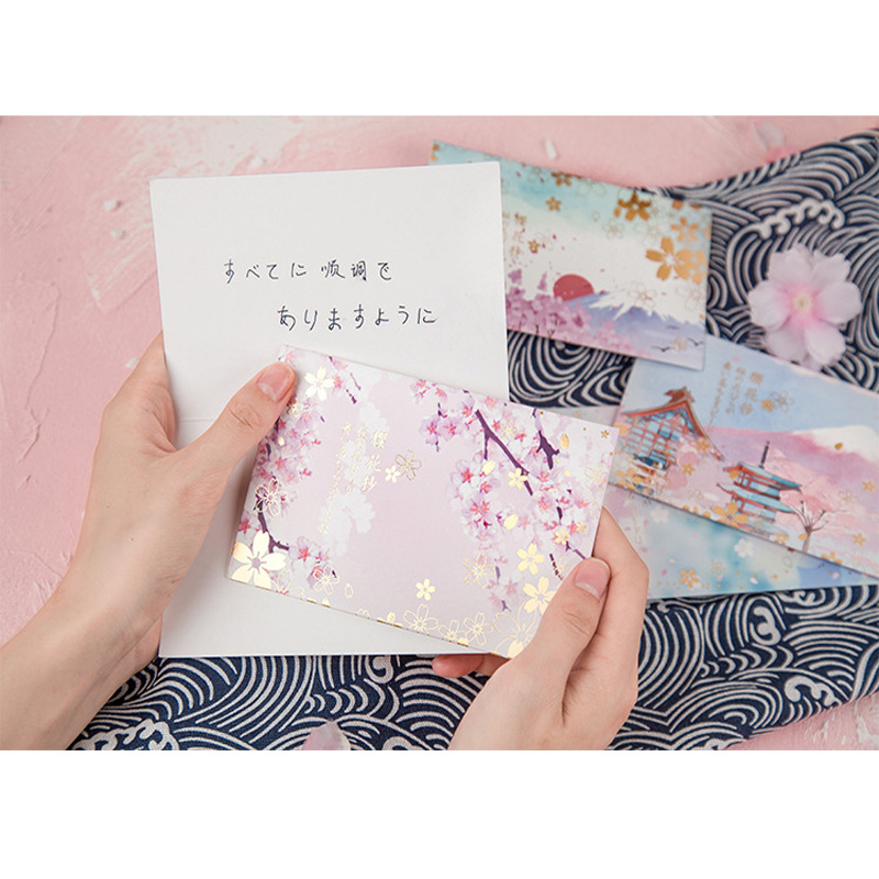 20packs/lot Beautiful Sulfuric Acid Paper Envelopes Kawaii Stationery Greeting Card Christmas Wedding Invitation Birthday Card