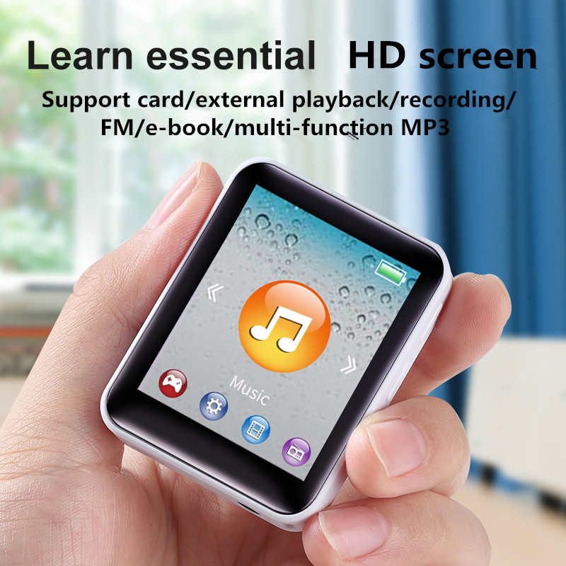 MP3 музыкальный плеер внешнее воспроизведение Walkman MP4 компактный и портативный мини с экраном P4 карта/запись/многофункциональный
