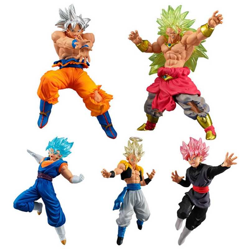 WSTXBD Original BANDAI Dragon Ball Z Super VS SP03 Subiu UI Full Power Broly Goku Vegetto Brinquedos Brinquedos Figurals Figura