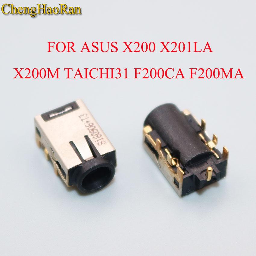 ChengHaoRan DC Power jack For Asus X200 X200E X200LA X201LA X201E X202E X200CA X200MA X200M TAICHI31 TAICHI21 F200CA F200MA(China)