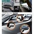 Tonlinker 2 шт. автомобильный Стайлинг ABS зеркало заднего вида полоса чехол наклейки для Lexus RX200t NX200 300h 450h 2016 аксессуары