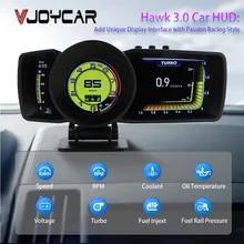 Alarm-System Dashboard Head-Up-Display Turbo-Boost Auto-Gauge Smart-Speedometer OBD2