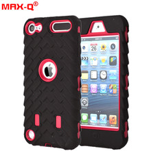 Luxury touch5 6 case Slim Armor Case For ipod Touch 5 6 5G 5th Generation Gen NEO Hybrid PC+silicon