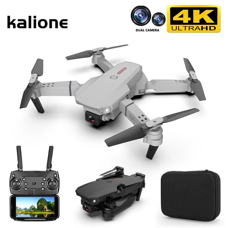 Drone E88 Pro WIFI FPV 4K HD Camera Foldable Selfie RC Quadcopter Aerial Photo