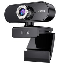Mifa T60 1080P Webcam pc kamera High Definition Web Kamera mit Gebaut-in HD Mikrofon für live-Video konferenz online klasse(China)