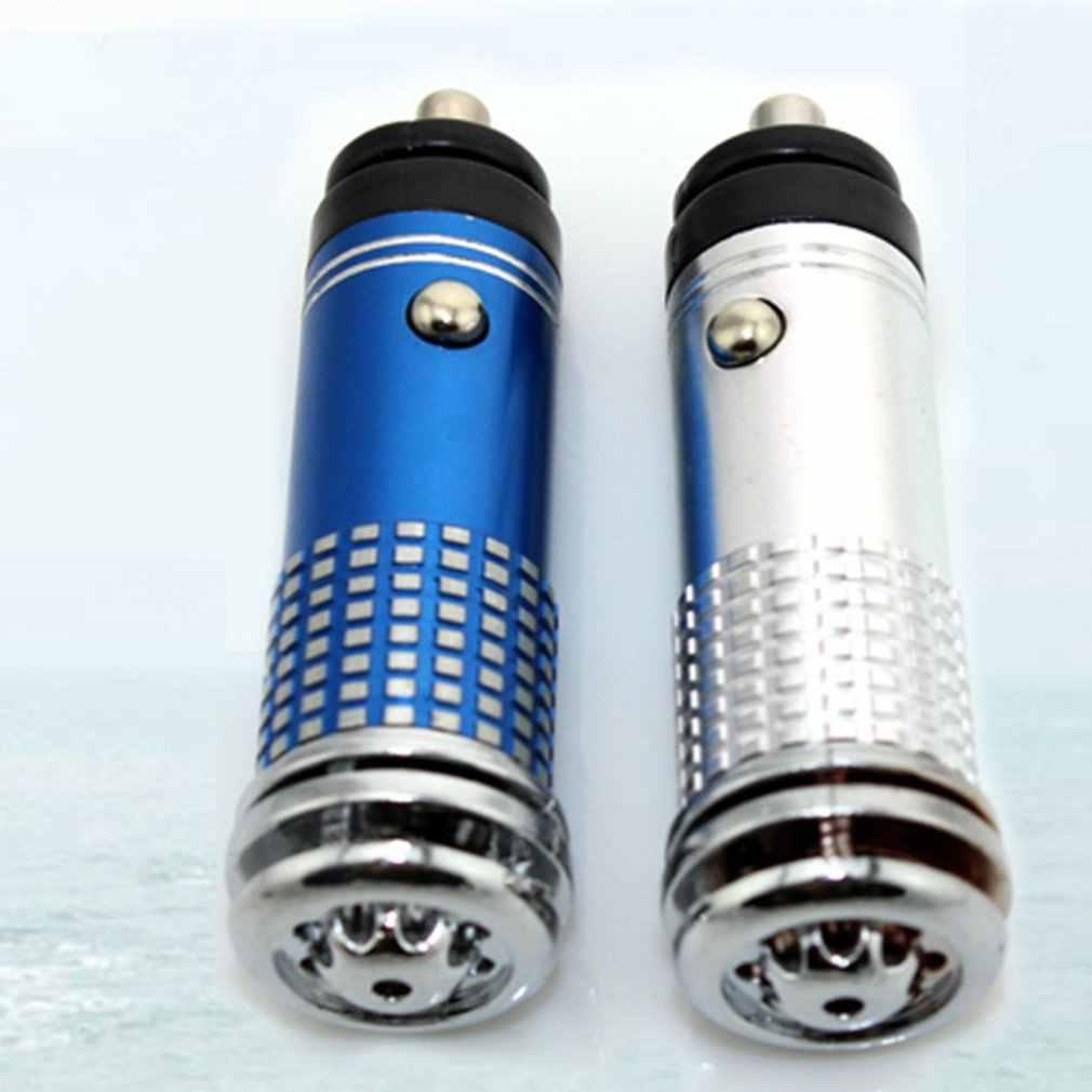12V Mobil Pembersih Udara Universal Mini Auto Mobil Udara Segar Anion Ionic Purifier Oksigen Bar Ozon Ionizer Udara Bersih humidifier
