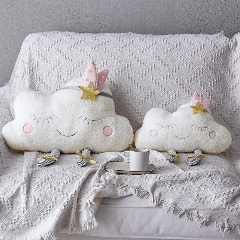 bebe travesseiro nuvem padrao macio almofada para recem nascidos nordic decoracao do quarto do bebe brinquedos