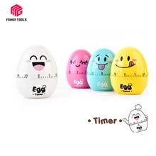 Creative Egg Timer 60 Minutes Cute Cartoon Kitchen Cooking Clock Alarm Mechanical Home Decor Hourmeter