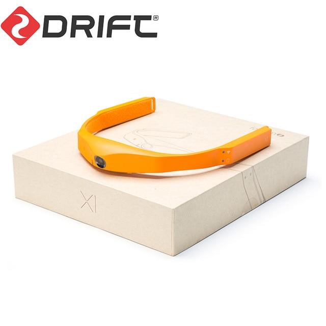 DRIFT Original DRIFT สวมใส่กล้อง Action กล้อง 1080P HD กล้อง Body สวมใส่กล้องกีฬา CAM พร้อม WiFi CAM แก้วกล้อง