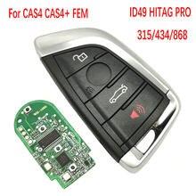 Datong na całym świecie kluczyk samochodowy z pilotem dla BMW 1 3 5 7 X3 X5 X6 X7 CAS4 CAS + FEM BDC PCF7953 315/433/868MhzAuto obudowa inteligentnego pilota z kluczykiem samochodowym