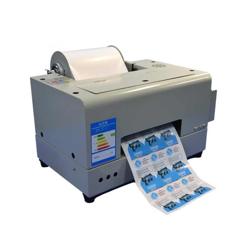 Small Label Printer 4 Colour Adhesive Rolls Sticker Printing Machine A4 Label Inkjet Printer Logo Sticker Printing Machine Aliexpress