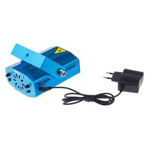Image 3 - Portable Mini LED R&G Laser Projector Stage Lighting Effect Adjustment DJ Disco KTV Club Party Wedding Light EU Plug