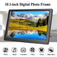 10 дюймовая цифровая фоторамка Фирменная Новинка ips полный угол обзора Экран Модернизированный 1280x800 высокого Разрешение полный Дисплей видео плеер