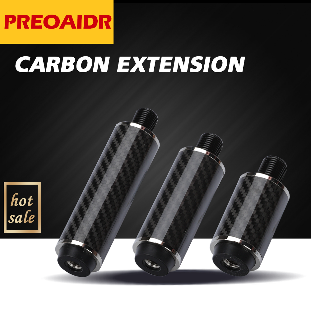 Chinese PREOAIDR Billiards Pool Cue Extension High-quality Carbon Extension Professional Billiard Accessories For MEZZ PREDATOR