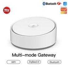 Smart Home Gateway multimodale ZigBee WIFI Bluetooth Mesh Hub funziona con l'app Tuya Smart Life Alexa Google Home Intelligence System