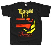 Mercyful fate-melissa t camisa S-5XL 100% algodão rei diamante(China)