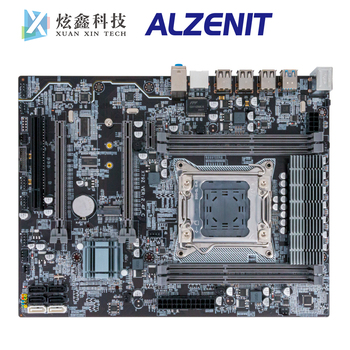 ALZENIT X79-CE7 Desktop Motherboard For Intel X79 LGA 2011 Xeon E5 Support DDR3 ECC REG 128GB With M.2 NVME USB3.0 SATA3.0 цена 2017