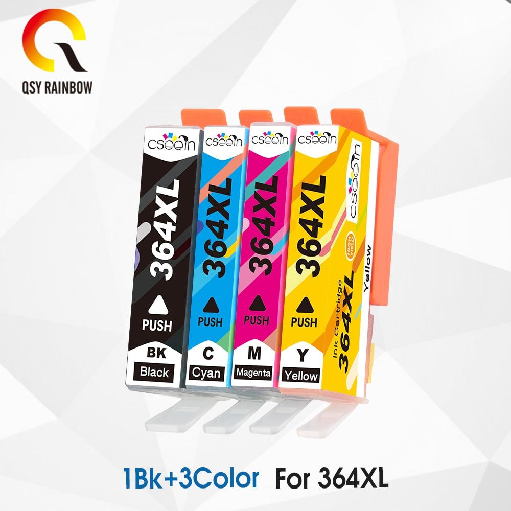 CMYK SUPPLIES 4Pcs 364XL Compatible Ink Cartridge Replacement for HP 364 xl for Deskjet 3070A 5510 6510 B209a C510a C309a|Ink Cartridges| |  - title=